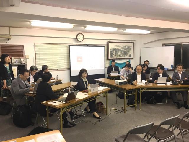 中央支部 平成28年度 第5回部長会・第3回執行委員会 (平成28年10月13日)開催報告