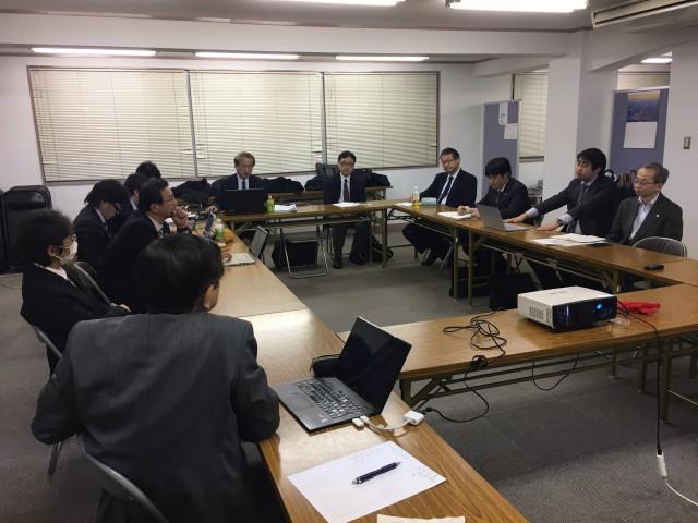 中央支部 平成28年度 第5回総務部会 (平成29年2月9日)開催報告