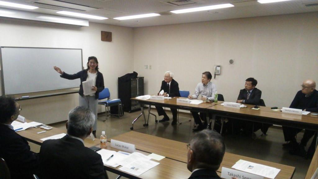 4.「青山ランチトーストマスターズクラブ」会員の素晴らしいスピーチ