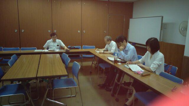 中央支部 平成29年度 第2回総務部会(平成29年7月7日)開催報告