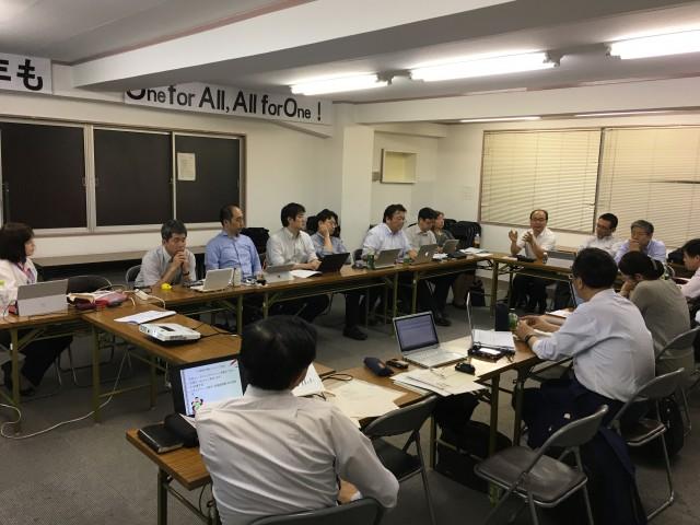 中央支部 平成29年度 第2回部長会 (平成29年6月22日)開催報告