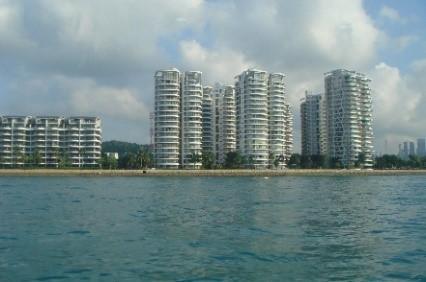 写真10_Singaporeリゾートマンション群