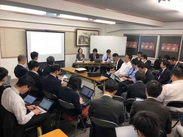 中央支部 平成30年度 第3回執行委員会 (平成30年11月1日)開催報告