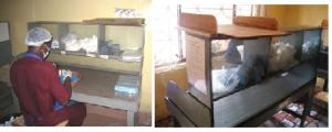 カイゼン後:セル生産の作業台